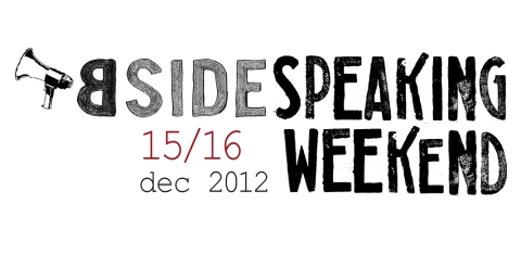 bside speaking weekend